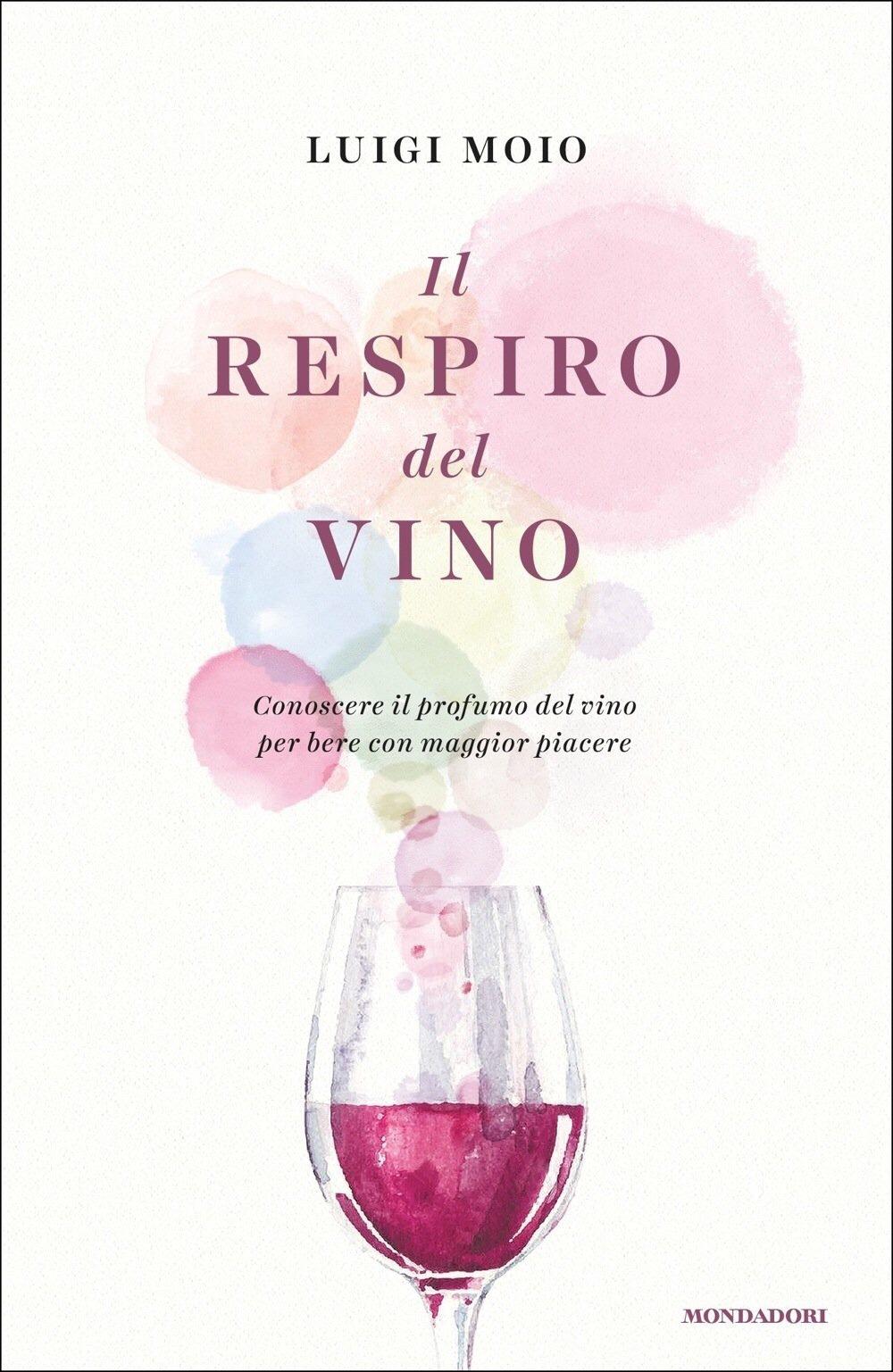 """Luigi Moio's book """"Il Respiro del Vino"""" (The Breath of Wine)"""