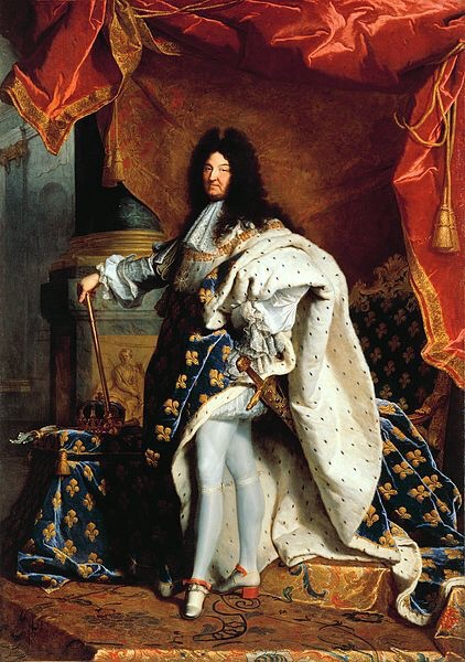 Portrait of King Louis XIV, The Sun King