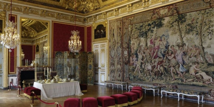 L'antichambre du Grand Couvert in the palace of Versailles