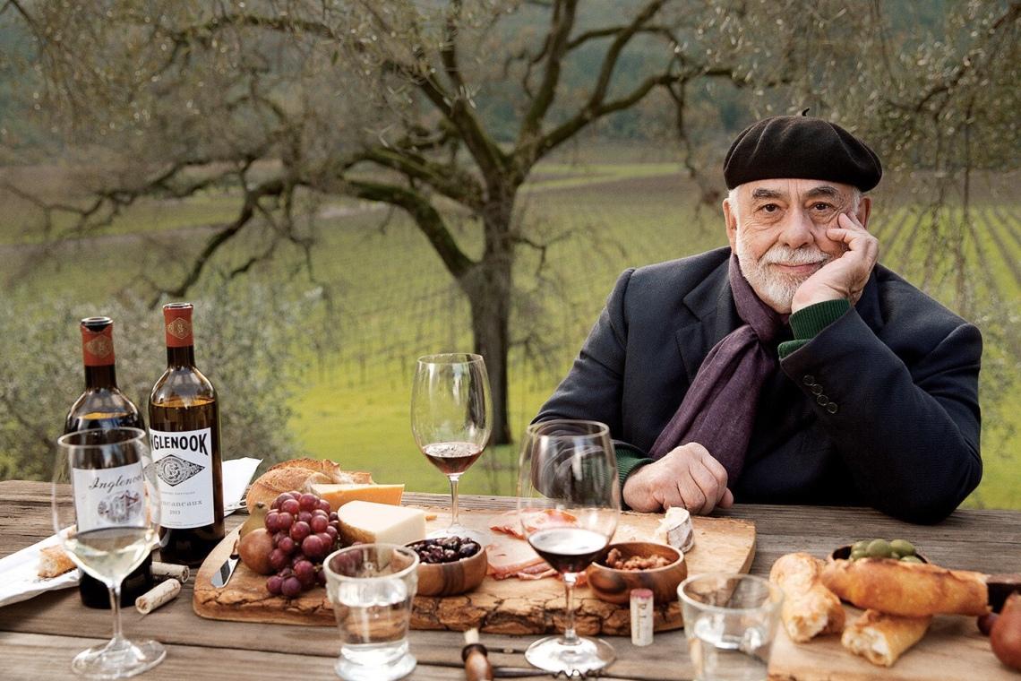 Francis Coppola at his winery
