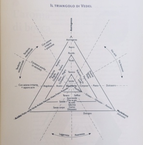 Vedel's Triangle showing the equilibrium of red wines, Il Piacere del Vino