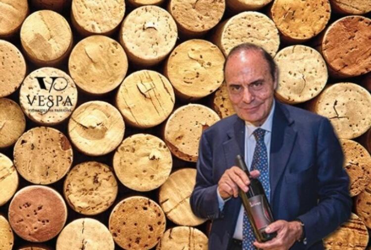 Bruno Vespa and his winery, Vespa: Vignaioli per passione