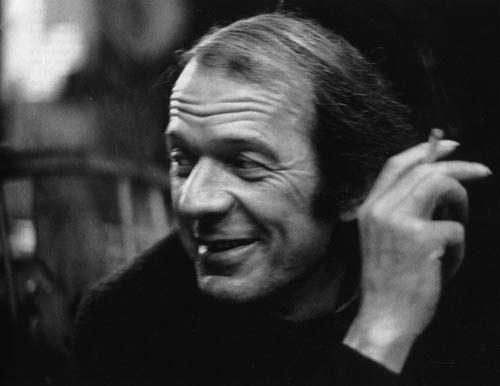 Photograph of Gilles Deleuze, French philosopher