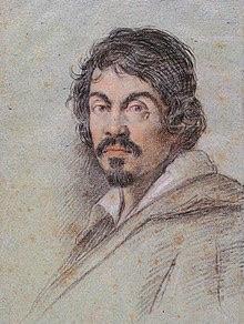 Self Portrait of Caravaggio