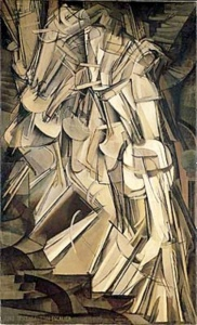 Nude Descending a Staircase, No. 2, Marcel Duchamp, 1912