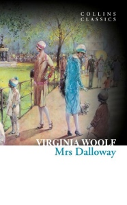 Mrs, Dalloway book cover, Virginia Woolf, Collins Classics