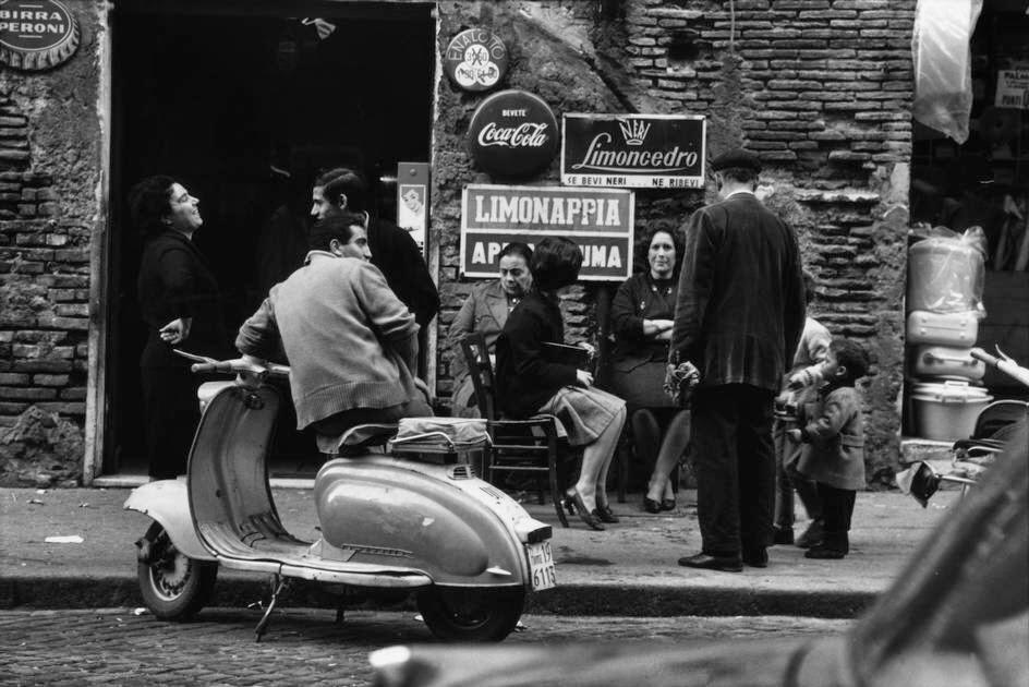 Italian street scene, 1960s