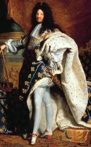 portrait of King Louis XIV
