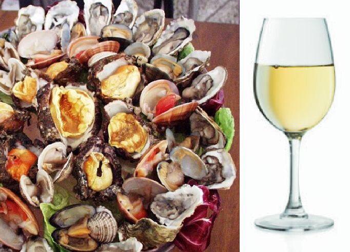 """""""Crudo di pesce"""" with Castel Del Monte DOC Chardonnay"""