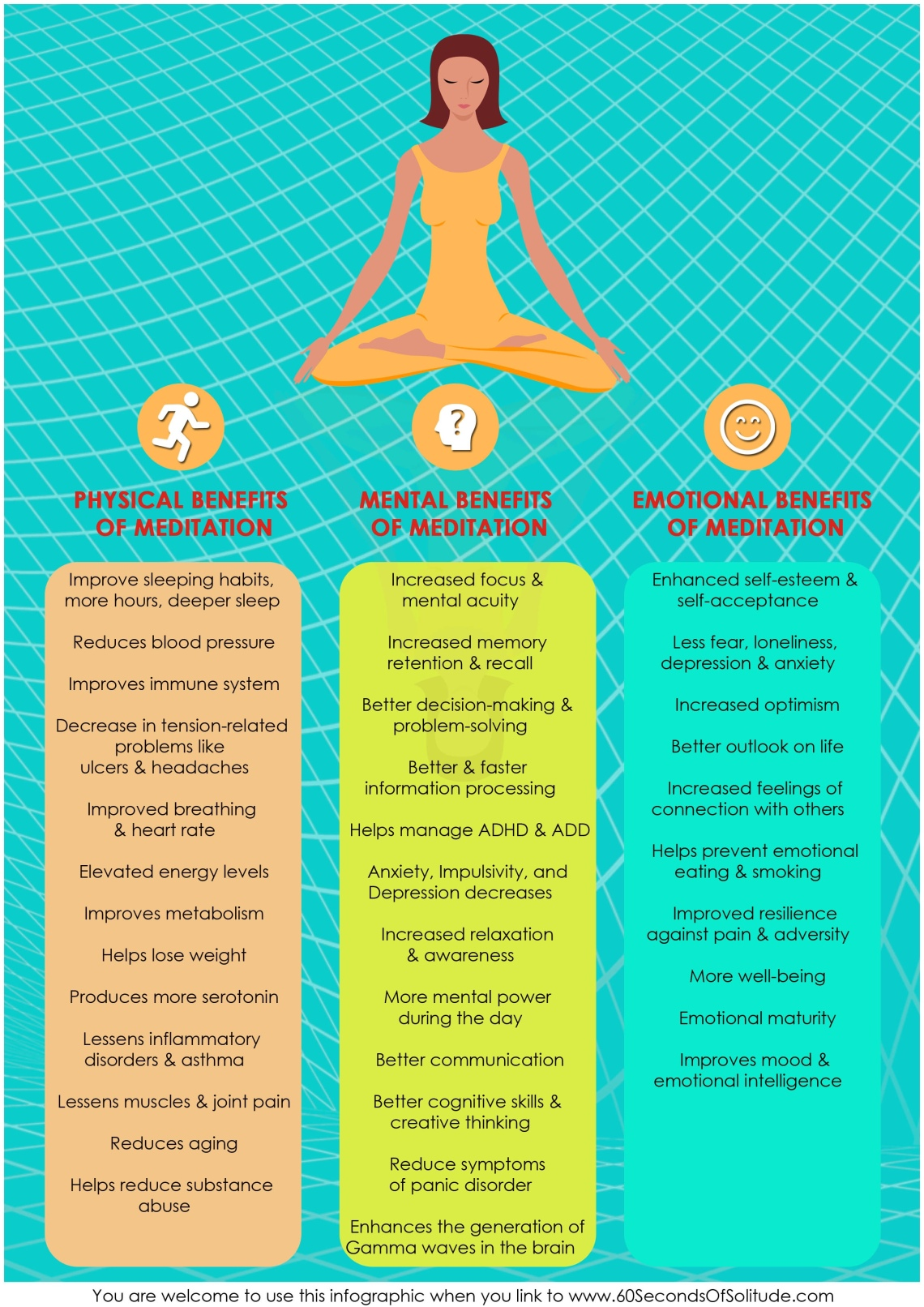 The physical, mental and emotional benefits of meditation