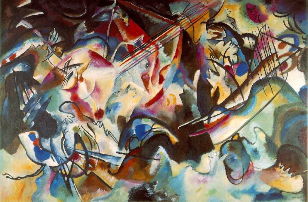 Wassily Kandinsky, Compositin 6, 1913