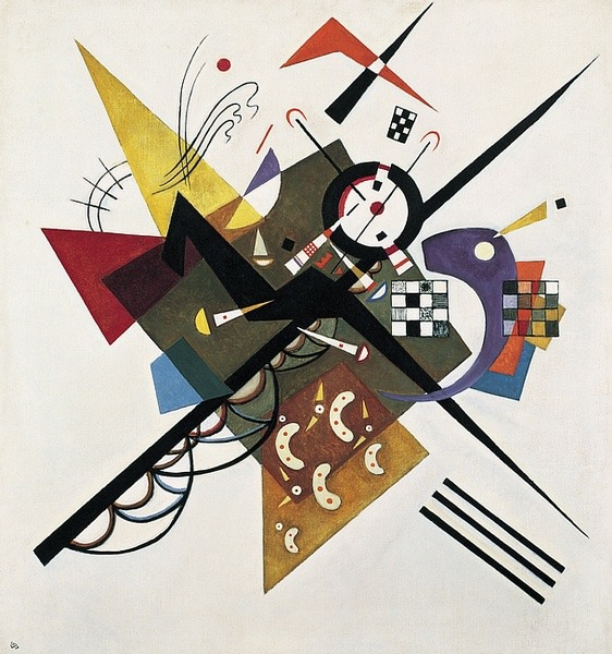Wassily Kandinsky, On White II, 1923