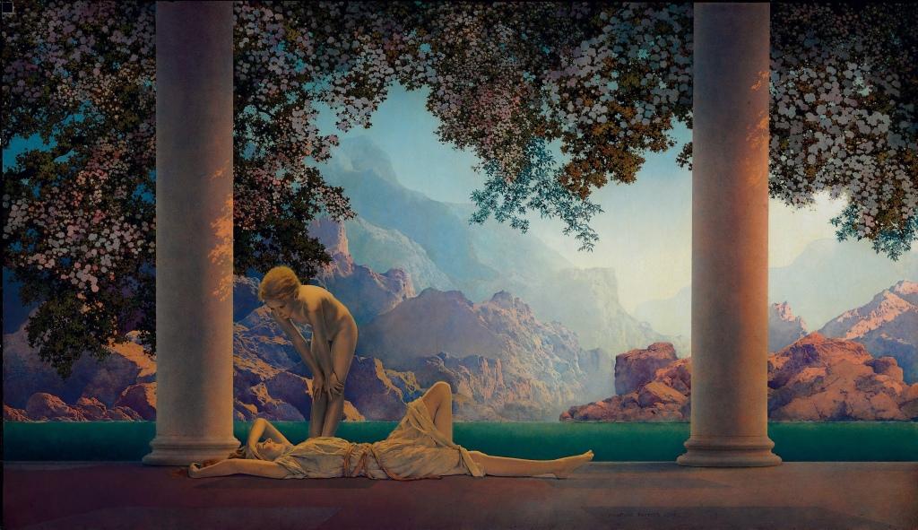 """Maxfield Parrish, """"Daybreak"""", 1922"""